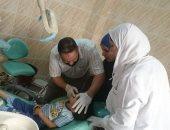 صور.. قافلة طبية بالمستوصف الطبى فى قرية كفر جعفر بالغربية
