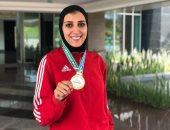 جيانا فاروق تتوج بذهبية بطولة  سيرياس الدولية للكاراتيه