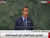 وزير خارجية الإمارات: هناك دول تقدم منصات إعلامية للمتطرفين ويجب مواجهتها