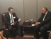 وزيرا خارجية مصر وإستونيا يبحثان سبل تكثيف العلاقات الاقتصادية والتجارية