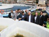 فيديو وصور.. تعرف على أكبر محطة مياه شرب بالبحيرة × 10 معلومات
