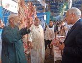 محافظ الجيزة يفتتح معرض للسلع الغذائية بمركز ومدينة منشأة القناطر