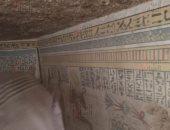 صور.. ضبط تشكيل عصابى فى سوهاج قبل نهب 3 مقابر أثرية بالكوثر