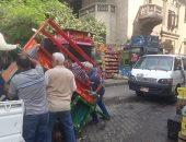 شرطة مرافق القاهرة تحرر 246 محضر و 887 إزالة إدارية فى يوم واحد