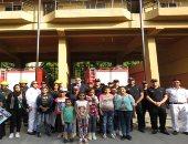 """""""كلنا واحد"""" تستضيف طلاب المدارس وأطفال دور الرعاية للتعرف على دور رجل الشرطة"""