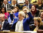 شاهد رد فعل مرتضى منصور أثناء رفض البرلمان طلب رفع الحصانة عن بعض النواب