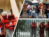"""صور.. نشطاء يعلنون التحدى أمام الحكومات الأوروبية المناوئة للمهاجرين بأزياء يتشبهون فيها بالكلاب.. كلب أنقذته السفينة """"أكواريوس"""" يلهم المتظاهرين أمام محكمة فى مالطا..ورئيس الوزراء يؤكد اهتمامه بإنقاذ كل الأرواح"""