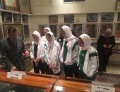 صور.. منتخب سيدات السعودية للسلاح فى ضيافة اللجنة الأولمبية
