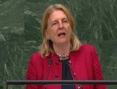 وزيرة خارجية النمسا تطالب برلمان أوروبا بالتركيز على المناخ وحروب التجارة