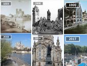 """Before & after"".. شاهد 15 صورة تبرز تغيرات المدن الأوروبية × 100سنة"