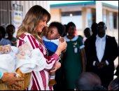 """ترامب عن زيارة ميلانيا إلى غانا: """"فخور بالسيدة الأولى العظيمة"""""""