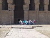 صور.. معبد دندرة يستقبل 26 ألف سائح و20 ألف زائر مصرى منذ بداية 2018