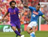 التشكيل المتوقع لمباراة نابولى ضد ليفربول فى دورى أبطال أوروبا