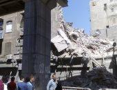 إصابة شخص فى انهيار جزئى بعقار غرب الإسكندرية