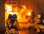 إصابة 5 أفراد من الدفاع المدني السعودى أثناء مكافحة حرائق غابات