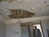 صور.. معاينة مبنى عيادة تأمين صحى ومنزل لإزالة الأدوار المخالفة بكفر الشيخ