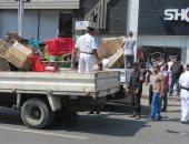 """""""أمن القاهرة"""" ينفذ 1238 قرار إزالة ويضبط 76 بائعا ورفع 19 عربة مأكولات"""