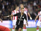 نيمار يغيب عن مباراة باريس سان جيرمان ضد أميان بالدوري الفرنسي