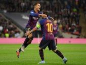 كوتينيو يتقدم لبرشلونة ضد إشبيلية بعد دقيقتين من بداية المباراة.. فيديو
