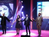 نجوم ونجمات الفن على السجادة الحمراء فى افتتاح مهرجان الإسكندرية