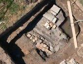 صور.. هيكل عظمى.. يكشف أسرار تاريخية عمرها 1000 سنة فى إيطاليا