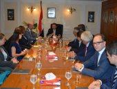 وفود شركات ألمانية وإيطالية يبحثون تطوير شركات قطاع الأعمال