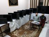 الأمن العام يضبط لصوص سرقوا معرض أدوات منزلية فى المحلية