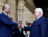 مراسم تسليم الرئيس العراقى الجديد مهام منصبه