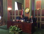 وزير المالية يلتقى بالسفراء المنقولين للعمل على رأس البعثات الدبلوماسية بالخارج
