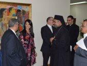 """وزيرة السياحة تبحث مع الوفد الكاثوليكى الإيطالى """"رحلة العائلة المقدسة"""""""