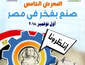 """4 نوفمبر.. الدورة الخامسة لمعرض """"صنع بفخر فى مصر"""" بجامعة عين شمس"""