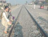أهالى ابنى بيتك يطالبون بمزلقان على السكة الحديد للحد من الحوادث