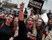 صور اعتقال ممثلة ومئات المحتجين على تعيين كافانو فى المحكمة العليا الأمريكية