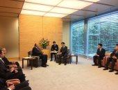 شكري: رسالة السيسى لرئيس وزراء اليابان تؤكد أهمية دفع مسار التعاون بين البلدين