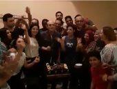 """محمد صبحى وأبطال """"خيبتنا"""" يحتفلون بالعرض الجماهيرى الأول"""