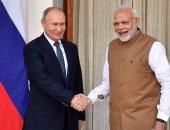 """رئيس الوزراء الهندى يختتم زيارته لروسيا ويصفها بـ""""المثمرة"""""""