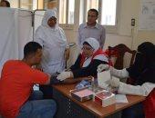 توقيع الكشف الطبى على 62801 مواطن خلال حملة القضاء على فيروس سى بدمياط