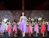 """فيديو.. استعراض رياضى لمتسابقات ملكة جمال """"بنت مصر"""" وملكة جمال العالم للسياحة تغنى"""