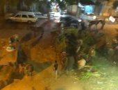 قارئ يشكو من انتشار اسواق عشوائية بشارع ابو هميلة بمدينة العياط