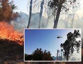 الحكومة تكشف عن تنسيق الوزارات فى التعامل مع حريق الراشدة بالوادى الجديد