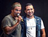 الشاعر تامر حسين يحصد نصيب الأسد فى ألبوم عمرو دياب الجديد