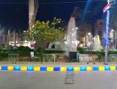 صور ..ميدان الشهداء ببنى سويف يتجمل للاحتفال بذكرى انتصارات أكتوبر