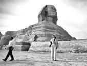 صور.. هكذا روجت ميلانيا ترامب للسياحة المصرية من أمام الأهرامات خلال زيارتها لمصر