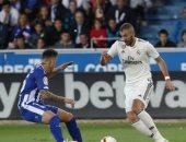 شوط أول سلبى بين ريال مدريد وألافيس فى الدوري الإسباني