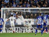 ملخص واهداف مباراة ألافيس ضد ريال مدريد فى الدوري الإسباني