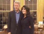 مونيكا لوينسكى: لم أجد كلينتون للوهلة الأولى جذابا بل رجلا طاعنا فى السن