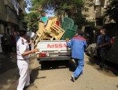 صور.. تنفيذ 450 مخالفة وضبط 36 بائعا و4881 مخالفة كلبش بحملات بالقاهرة