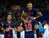 """مبابى """"السوبر"""" يقود سان جيرمان لاكتساح ليون بخماسية فى الدوري الفرنسي"""