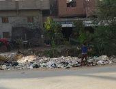 قارئ يشكو تراكم القمامة بقرية برج نو الحمص فى محافظة الدقهلية