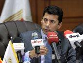 وفد وزارة الشباب اللبنانية يتفقد المنشآت الرياضية بالسويس وبورسعيد